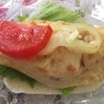 Grillezett húsos szendvics