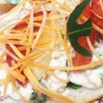 Majonézes franciasalátás szendvics